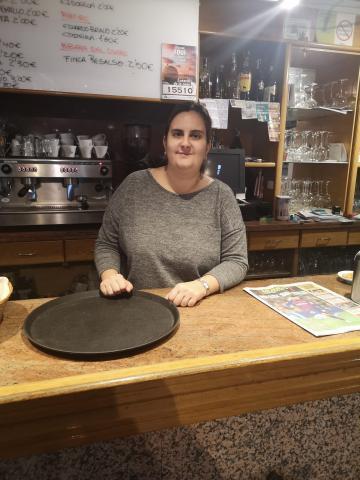 Laura Cascallana. Cafetería Lembranza. Fene