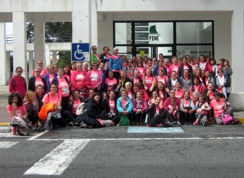 A Asociación Por máis vida naceu do curso de ximnasia contra a fatiga oncolóxica