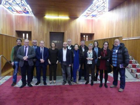 Medios en galego cos deputados de todos os grupos políticos
