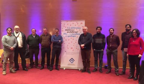 Dia dos Medios en Galego. 2019. Pontevedra