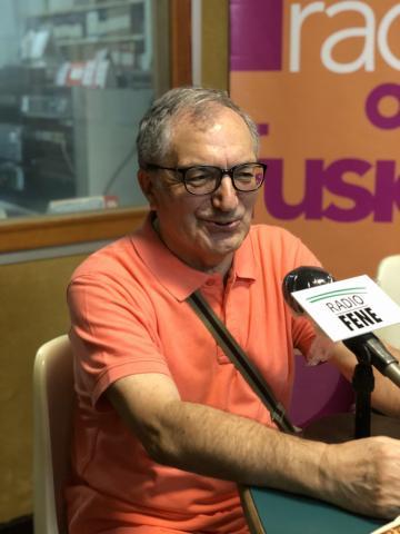 Martiño Montero en Radio Fene