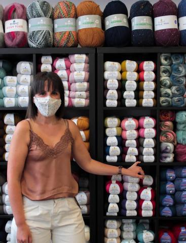 Sandra Montero en Costuras