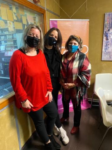 Mari Carmen Martínez, Sandra Permui e Marta Pereiro