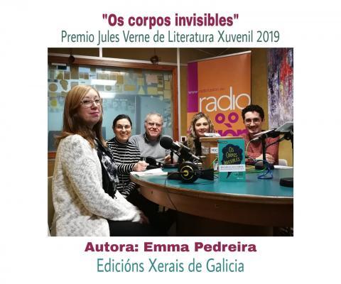 Conversa sobre Os corpos invisibles de Emma Pedreira