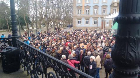 Pensionistas reclaman o mantenemento do seu poder adquisitivo