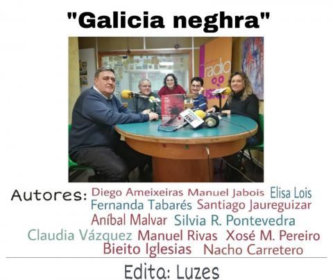 Club de lectura de Radio Fene Radiofusión sobre Galicia neghra