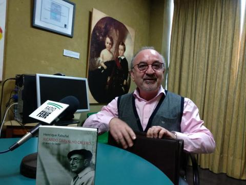 Henrique Rabuñal, autor de Ricardo Carvalho Calero, o anxo da terra