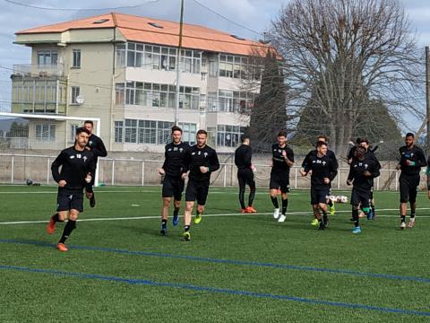 Racing de Ferrol en Maniños