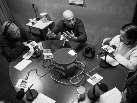 Clube de lectura de Radio Fene Radiofusión
