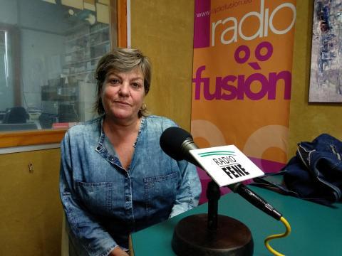 Susana Ricart en Radio Fene Radiofusión