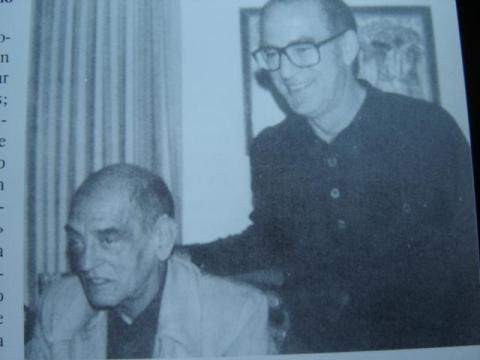 Xosé Rubia Barcia e Luis Buñuel