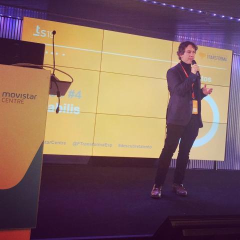 Talent Summit por mellor aplicación tecnolóxica de Xestión do Coñecemento, en Barcelona