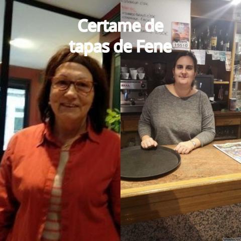Rosa Balseiro e Laura Cascallana