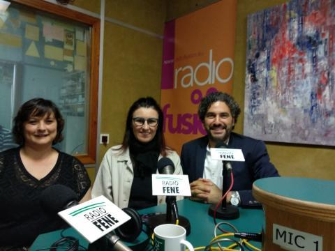 Maite Teijeiro, Rosa Echevarría e Dani Rios