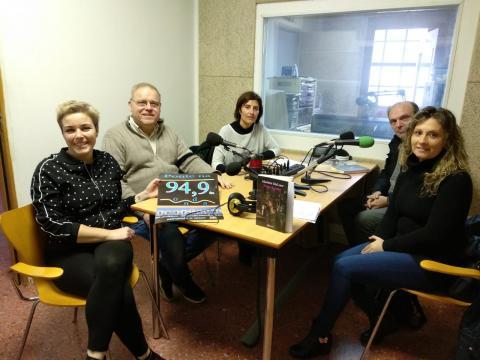 Clube de lectura de Radiofusión en Radio Redondela