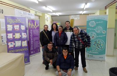 Exposición sobre a discapacidade no Colexio O Ramo de Barallobre