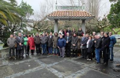 Medios en galego no Monumento ao Camiñante Descoñecido