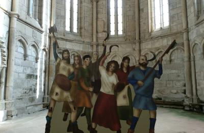 Os irmandiños tamén aparecen na exposición sobre Alba de gloria