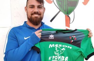 Javier López Montes, un dos xogadores mancados