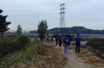 Marcha nórdica por Ferrol