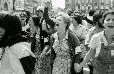 25 de xullo de 1980. Fotografía: Xan Carballa