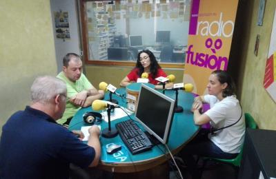 Henrique Sanfiz con Ramiro Sanjiao, Catuxa García e Sheila Malde