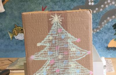 Buzón de nadal de 4Eco Narón