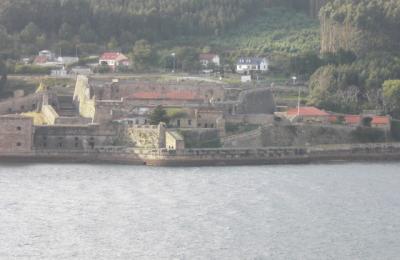 Castelo de San Felipe desde o castelo da Palma