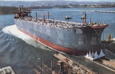 Botadura do Arteaga. 15 de abril de 1972