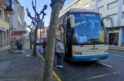 Autobús de Fene a Ferrol