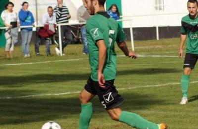 Óscar Pereiro, autor do segundo gol da S.D.Barallobre