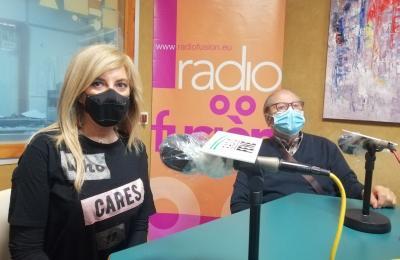 Ana Basoa e Julio Santos, en Radio Fene