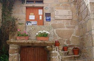 Casa natal de Ramón Cabanillas. Cambados
