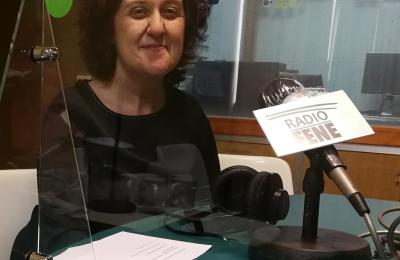 Paula Carballeira en Radio Fene