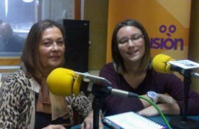 Ángela Löpez e Juana Dominguez de Cáritas Fene