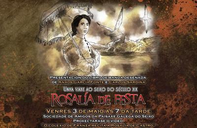 Rosalía de Castro e O Seixo en Mugardos