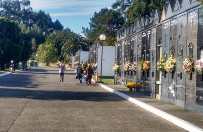 Cemiterio municipal de Fene. Campo da Arca. Barallobre