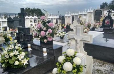 Cemiterio de Maniños en Fene