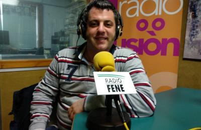 Paco Cerdeira en Radio Fene Radiofusión