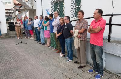 Corporación de Fene. 17 de agosto de 2017. Homenaxe ao alcalde fusilado Ramón Souto