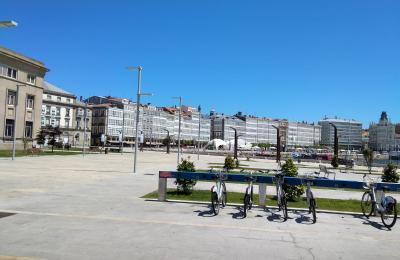 Galerías da Dársena. A Coruña
