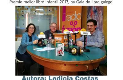 """Clube de lectura de Radio Fene Radiofusión sobre """"A señorita Bubble"""""""