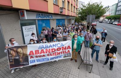 Abanca anunciou o peche da oficina de San Valentín para o 8 de setembro