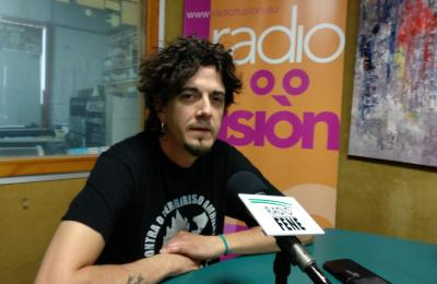 Óscar Fojo en Radio Fene Radiofusión