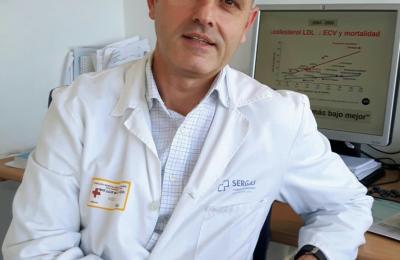 José Luís Díaz, doutor do Complexo Hospitalario Universitario de A Coruña