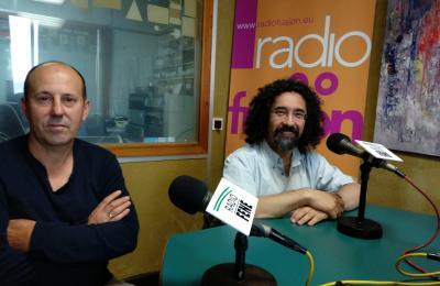 Juan José Seijo e Fernando Fresnillo. IES de Fene