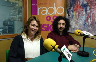 Mar García e Fernando Fresnillo, do IES de Fene
