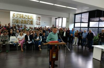 Gumersindo Galego, de novo alcalde de Fene