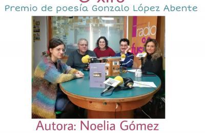 O xiro de Noelia Gómez no club de lectura de Radio Fene Radiofusión