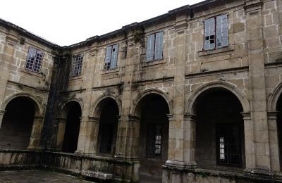 O convento de Montefaro albergou o cuartel de Artillería